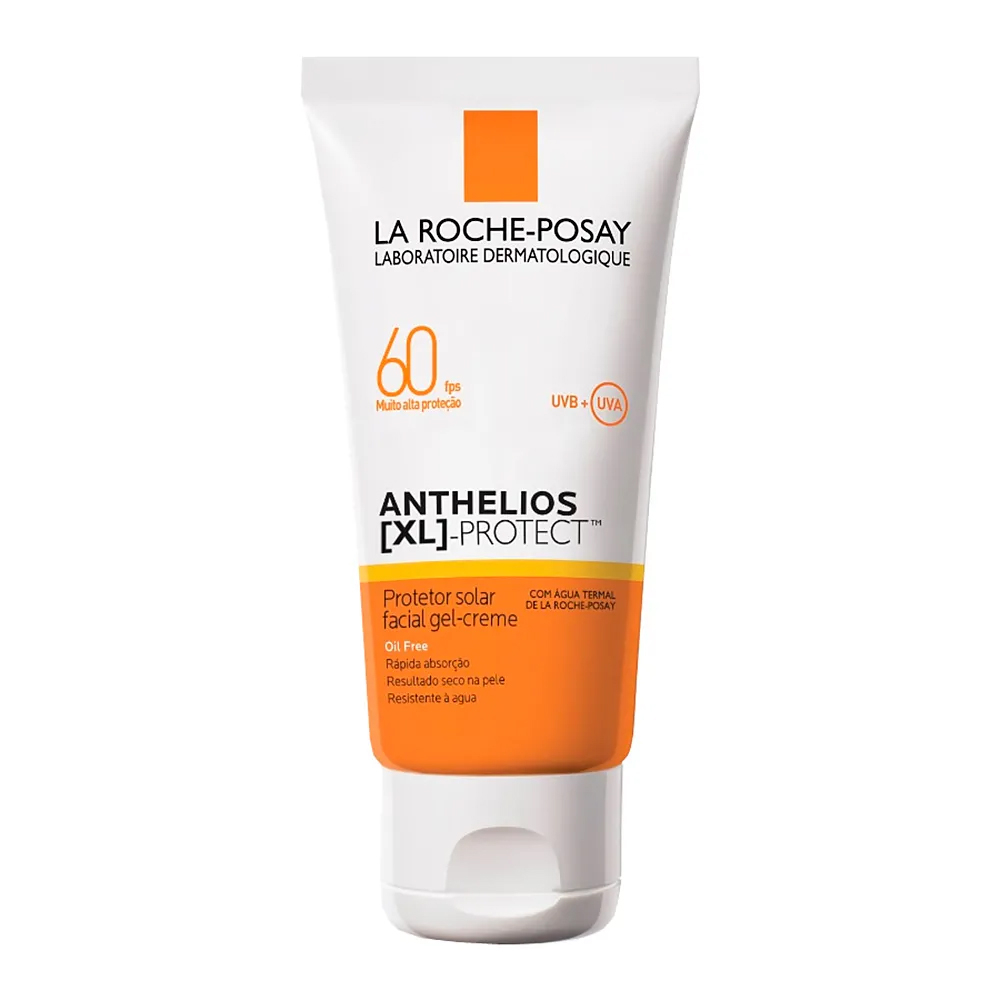 Anthelios XL Protect Protetor Facial Gel-Creme FPS60 40g