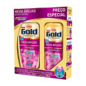 Kit Niely Gold Mega Brilho Shampoo 300mL+Condicionador 200mL
