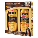 Kit Niely Gold Chocolate Shampoo 300mL+Condicionador 200mL