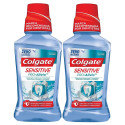 Kit 2x250mL Enxaguante Bucal Colgate Sensitive Pró-Alívio
