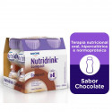 Nutridrink Compact Suplemento Nutricional Chocolate 4x125mL