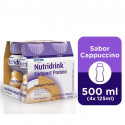 Nutridrink Compact Protein Suplemento Nutric Cappuc 4x125mL