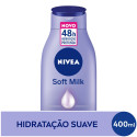 Loção Hidratante Nivea Body Soft Milk Intensiva 400mL