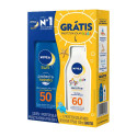 Kit Nivea Sun Protect Hidrata FPS50 +Sensitive Kids FPS60