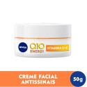 Nivea Q10 Energy Antissinais Dia Creme Facial FPS15 50g