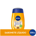 Sabonete Líquido Nivea Natural Oil 200mL