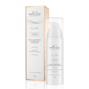 Profuse Clair Gel Creme Clareador Facial FPS 25 30g