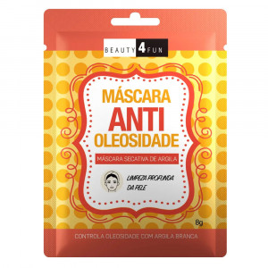 Máscara Facial Beauty 4 Fun Antioleosidade Dermage 8g