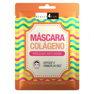 Máscara Facial Beauty 4 Fun Colágeno Dermage 8g
