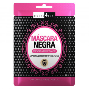 Máscara Facial Negra Beauty 4 Fun Purificante Dermage 8g