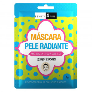 Máscara Facial Beauty 4 Fun Pele Radiante Dermage 8g