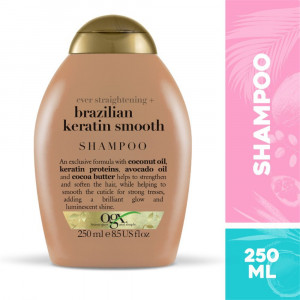Shampoo OGX Brazilian Keratin Smooth 250mL