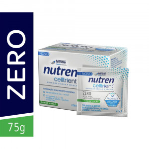 Nutren Celltrient Protect Complemento Alimentar Limão 75g