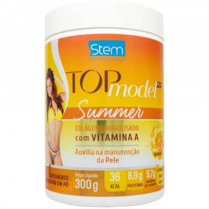 Top Model Pep Summer Colágeno Hidrolisado Laranja Stem 300g