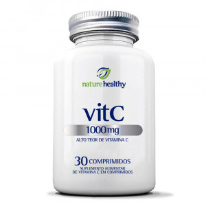 Vitamina C Nature Healthy 1000mg c/30 Comprimidos