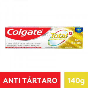 Creme Dental Colgate Total 12 Anti Tártaro 140g