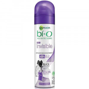 Garnier Bío Desodorante F 150mL-Invisible Black White Colors