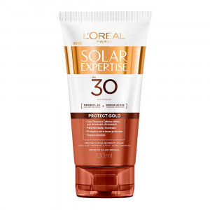 Protetor Solar Expertise Protect Gold L'Oréal FPS30 120mL