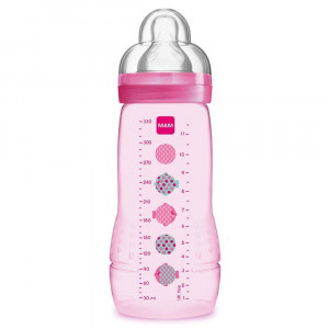 Mamadeira MAM Easy Active 330mL +4M Tam 3 - Girls