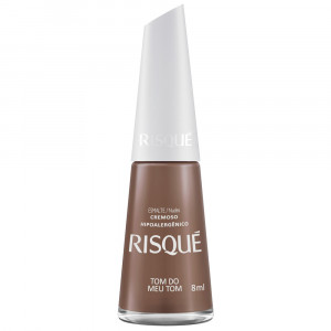 Risqué Esmalte Cremoso 8mL - Tom do meu Tom