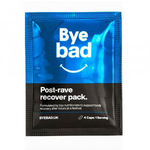 Bye Bad Post-Rave Recover Pack c/4 Cápsulas