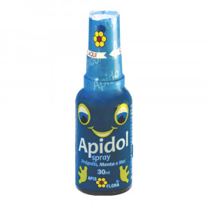 Apidol Kids Spray Própolis, Mel e Menta Apis Flora 30mL