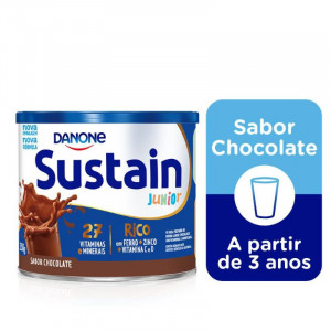 Sustain Júnior Chocolate Lata 350g