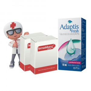 Adaptis Fresh Lubr 10mL+Drenatan Colírio 2x2,5mL Refrigerado