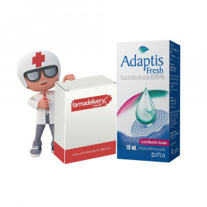 Adaptis Fresh Lubr 10mL+Drenatan Colírio 2,5mL (Refrigerado)