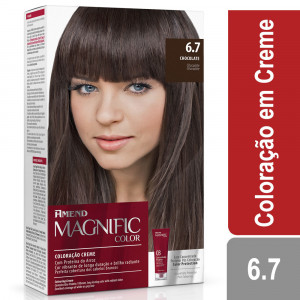 Amend Magnific Color Coloração Creme Chocolate 6.7