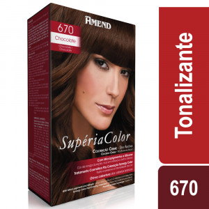 Amend Supéria Color Tonalizante Kit Chocolate 670