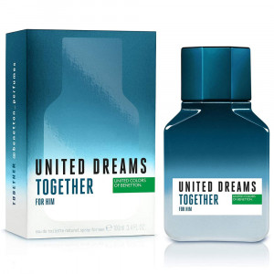 Benetton United Dreams Together EDT Perfume Masculino 100mL