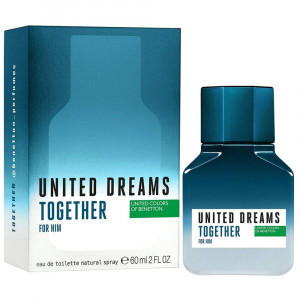 Benetton United Dreams Together EDT Perfume Masculino 60mL