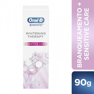 Creme Dental Oral-B 3D Whitening Therapy Sensitive Care 90g