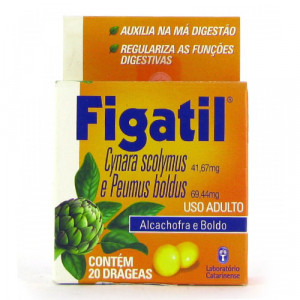 Figatil c/ 20 Drágeas