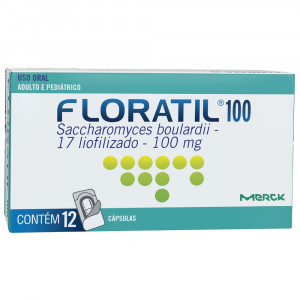 Floratil 100mg c/ 12 Cápsulas