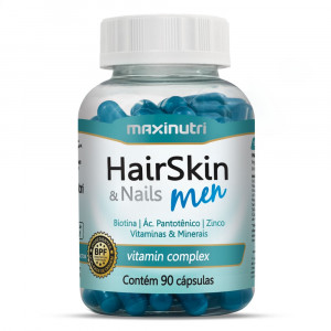HairSkin & Nails Men Maxinutri c/ 90 Cápsulas