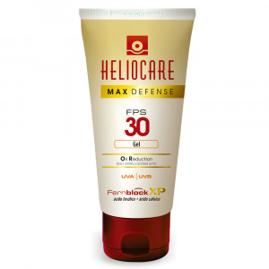 Heliocare Max Defense Oil Reduction Gel Melora FPS 30 50g