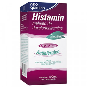 Histamin Xarope 2mg/5mL 100mL