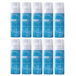 Kit 10x125mL Derm One Aerosol Desodorante Antitransp Futura