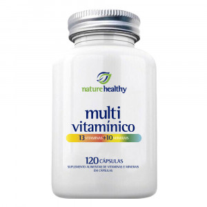 Multivitamínico AZ Nature Healthy c/ 120 Cápsulas