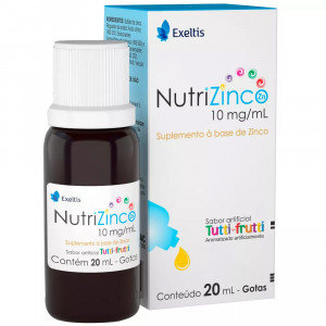 Nutrizinco Gotas 10mg/mL 20mL