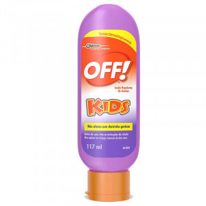 Off Kids Repelente Loção Infantil 117mL