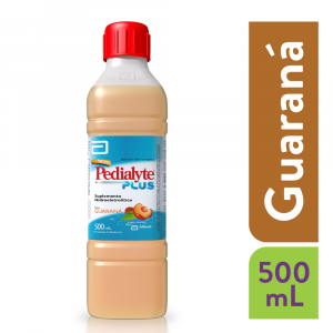 Pedialyte PLUS Suplemento Hidroeletrolítico Guaraná 500mL
