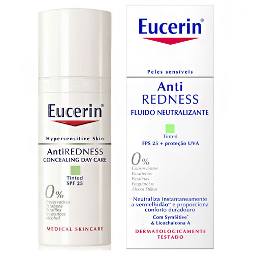 Eucerin Anti-Redness Fluído Neutralizante FPS 25 50mL