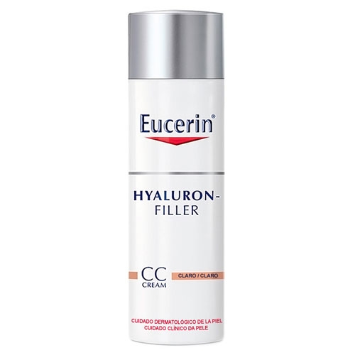 Eucerin Hyaluron-Filler CC Cream Antiidade Claro 50mL